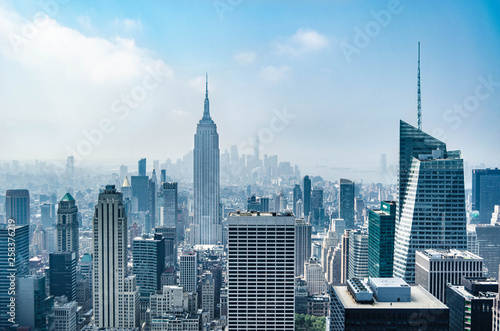 Fotografie, Obraz  skyscrapers in new york city