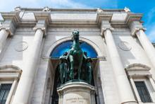 Equestrian Statue Of Theodore ...