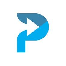 P Arrow Logo