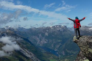 niezwykły sezon wiosenny i turystyka w norweskim kraju
