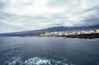 Puerto de la Cruz die Bucht von San Telmo an der Nordküste von Teneriffa.