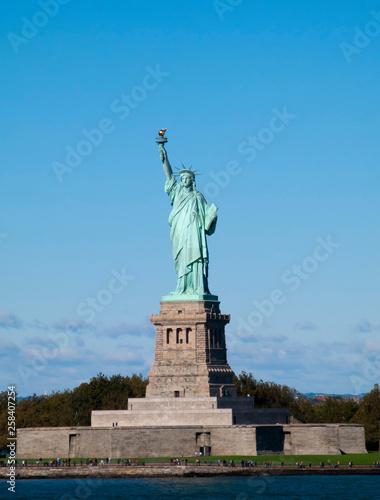 In de dag Historisch mon. Statue of Liberty