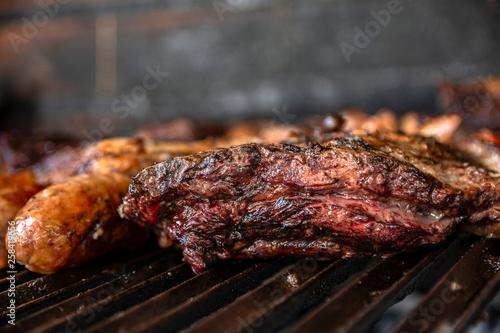 Recess Fitting Grill / Barbecue Carne a la parrila