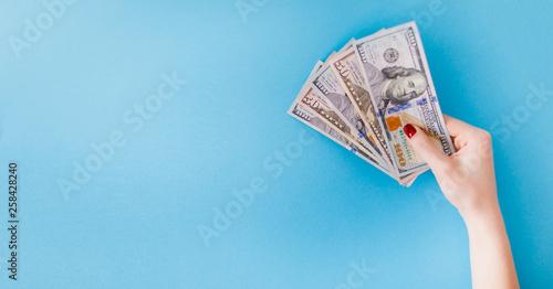 Fotomural  American dollars bill