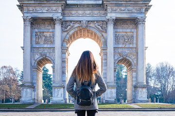 Arco della Pace, Mediolan