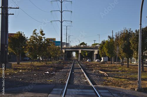 Obraz Schiene durch Guadalajara, Mexiko - fototapety do salonu