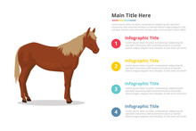 Horse Infographics Template Wi...