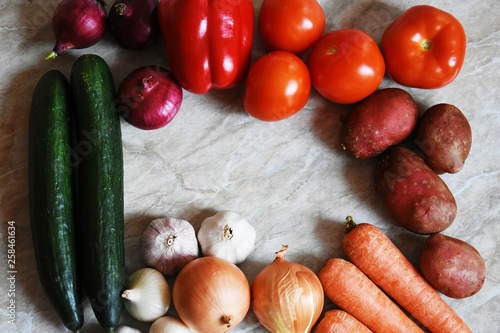 Fotografie, Obraz  Fresh organic vegetables