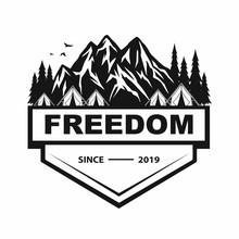 Logo For Mountain Adventure , ...