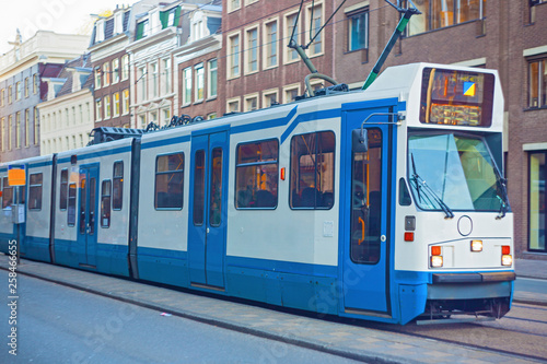 Photo  The tram stop near Centraal station