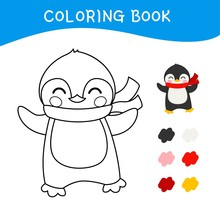 Coloring Book For Children. Ve...