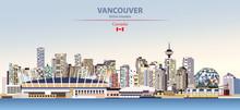 Vector Illustration Of Vancouv...