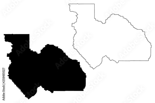 Counties In California Map.Plumas County California Counties In California United States Of