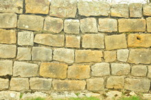 Hadrian's Wall In Northumberland, UK