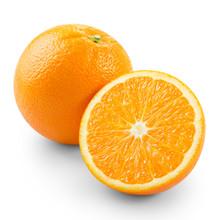 Orange With Half
