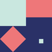 Vector Geometric Background In Material Design Style