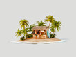 Leinwanddruck Bild - Travel and vacation concept