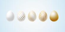 Easter Egg Set Of Elegant Mode...