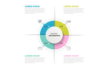Circle Infographic Template Wi...