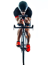 Triathlete Triathlon Cyclist C...