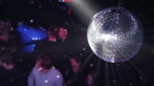 Disco Ball At The New Year Par...