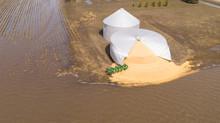 Iowa Farm Silo Burst By Midwes...