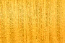 Macro Picture Of Yellow Thread Texture Background