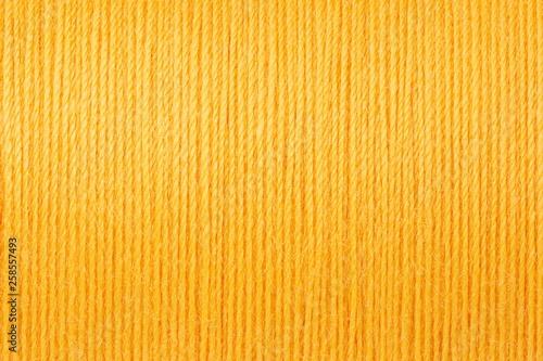 Fotografija Macro picture of yellow thread texture background