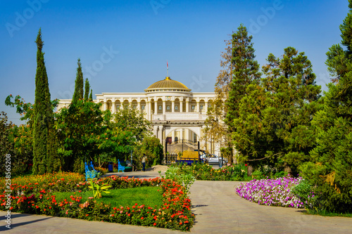 Photo  Dushanbe, capital of Tadjiistan