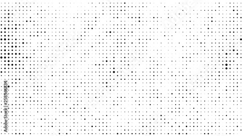 Halftone gradient pattern Canvas-taulu