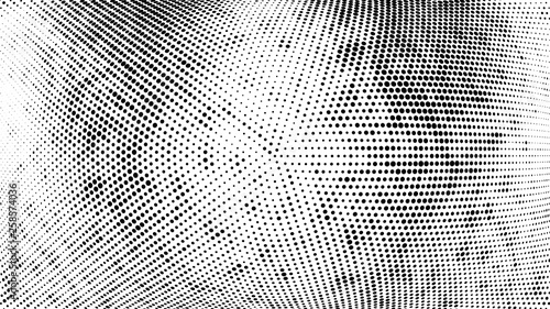 Fototapeta  Halftone gradient pattern