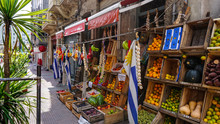 Fresh Fruit Stand On The Stree...
