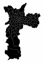 Map Of Sao Paulo City