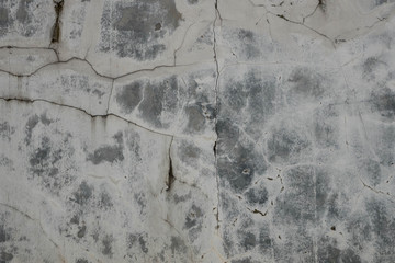 Old Cement brick Broken wall background