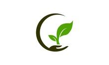 Planting Plant Logo