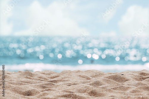 Obraz na plátne Seascape abstract beach background