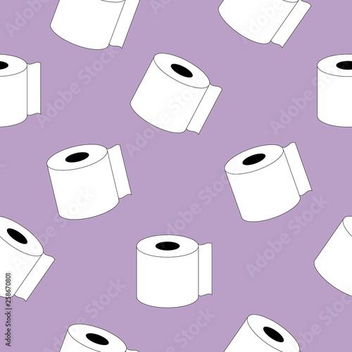 Tapety do łazienki  recznik-papierowy-ikona-wzor-bezszwowe-tlo-edytowalny-kontur-ikona-recznik-papierowy