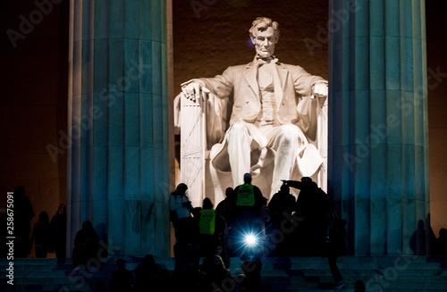Photo Lincoln Memorial in Washington D.C.