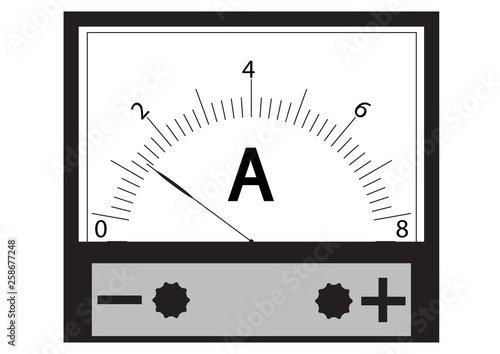 Photo Ammeter - a physical device for measuring the current in the electrical circuit