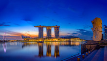 Marina Bay Sands At Night The...