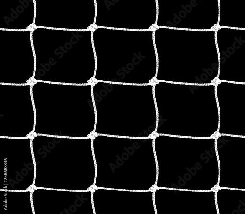 Obraz Seamless pattern of soccer goal net or tennis net - fototapety do salonu