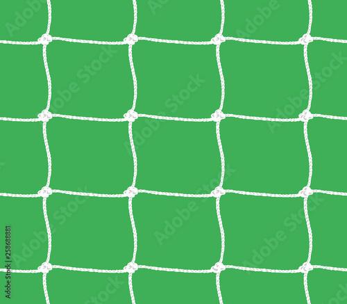 Fotografering Seamless pattern of soccer goal net or tennis net