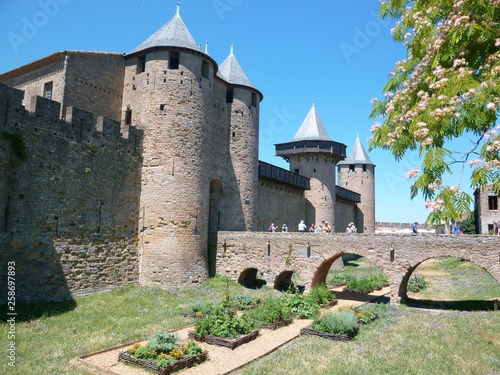 Photo Château comtal de la cité de Carcassonne (France)