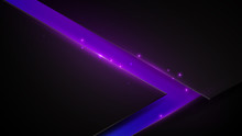Black And Purple Abstract Triangle Background