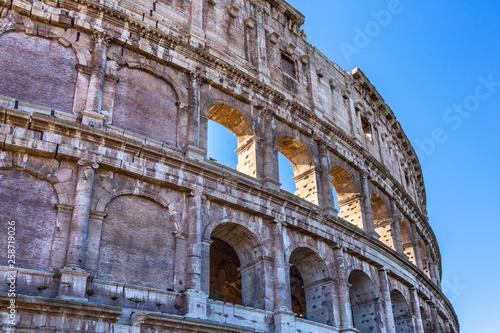 Rzymskie Koloseum, Rzym, Włochy