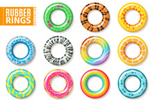 Rubber Rings. Swimming Inflata...