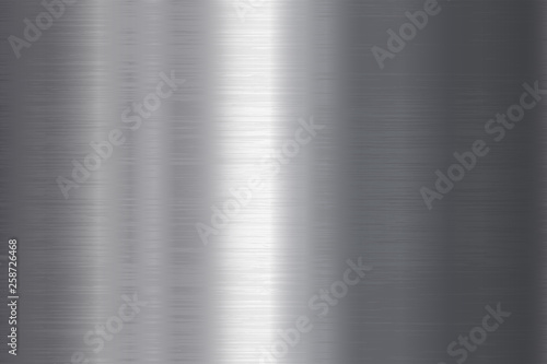 Photo Seamless brushed metal texture
