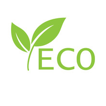 Eco Icon. Ecology Sign. Vector...