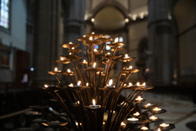 Many Candles Lights Of Interio...