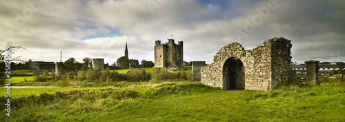 Obraz na plátne Trim Castle Trim, County Meath, Ireland
